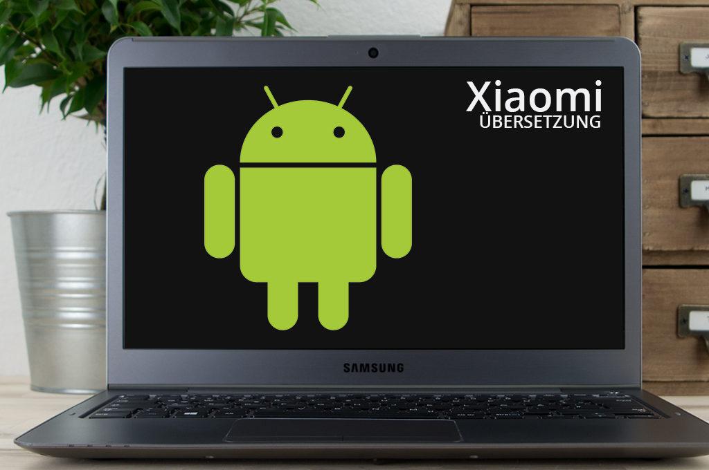 Übersetzung der Xiaomi App für Android