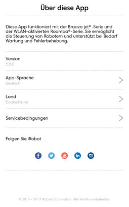 Informationen über App