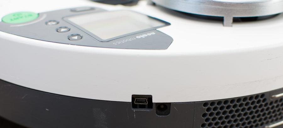 Mini-USB-Schnittstelle am Gerät (Firmwareupdate)
