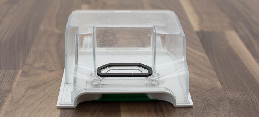 Transparenter Schmutzbehälter inkl. Dichtung