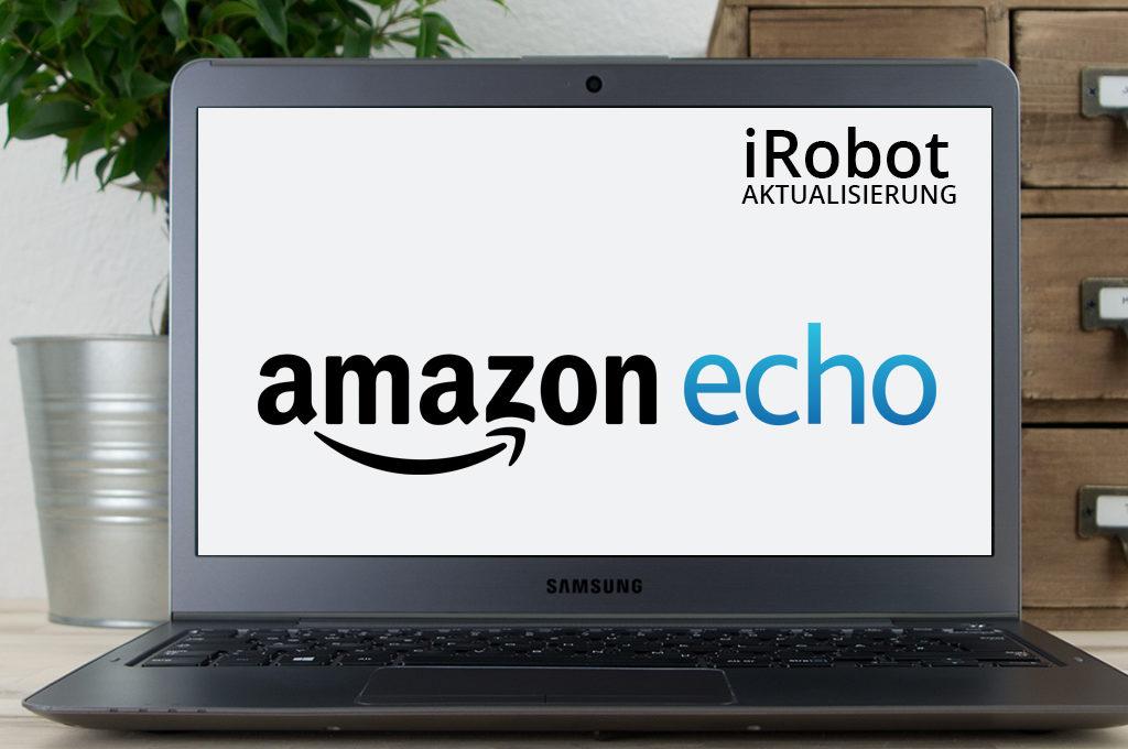 iRobot App-Update mit Amazon-Echo-Integration