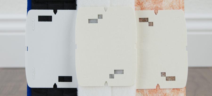 Lochstanzung für automatische Tucherkennung