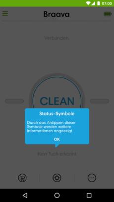 Hinweise zu Status-Symbolen
