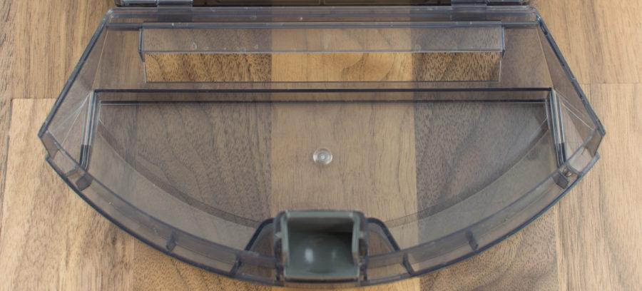 Aufnahmeschale des Schmutzbehälters