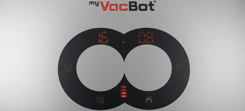 Bedienfelder des myVacBot