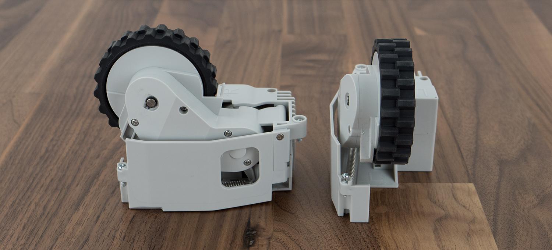 Gummierte Radantriebe (rechts & links)
