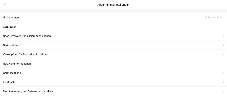 Deutsche Sprachpakete für den Roborock Sweep One   KAENI