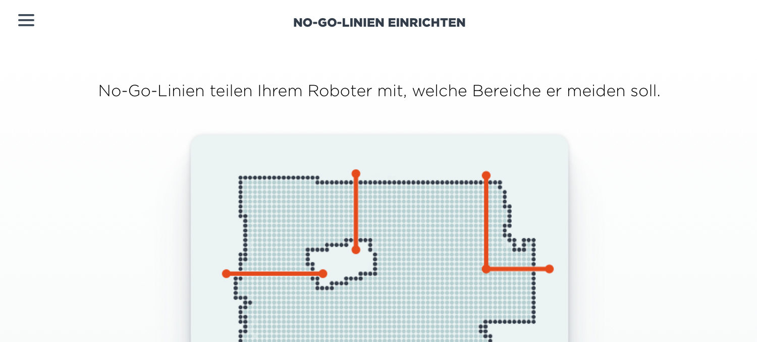 Kartenspeicherung und Virtual Wall für Neato Botvac D3 & D5 Connected