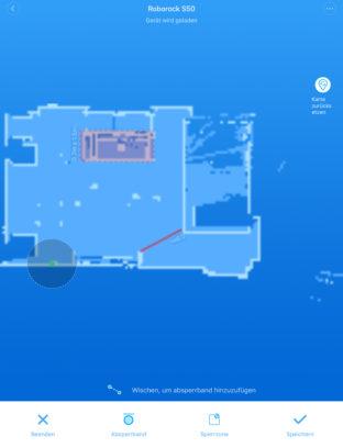 Karte mit versch. Elementen