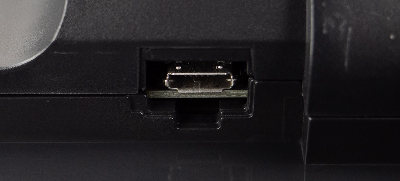 Micro-USB-Anschluss des Neato Botvac D6 Connected